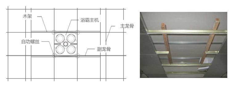 奥普(aupu)fdp412k 灯暖型浴霸