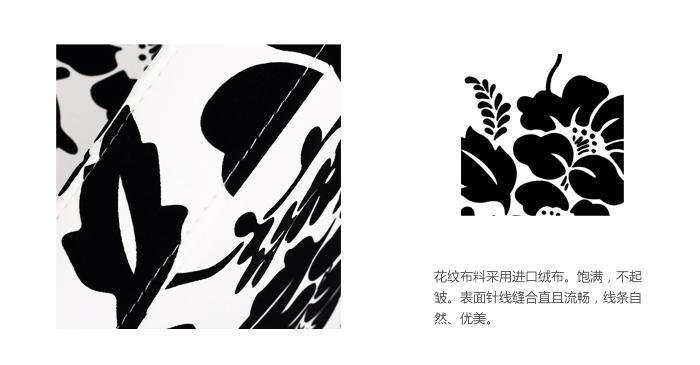 黑白花藤边框素材图库/小清新碎花边框素材/简单花藤