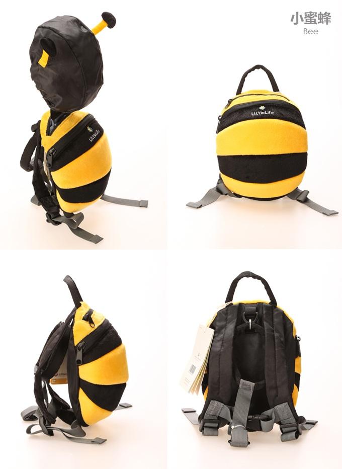 可爱超萌3d动物独特造型儿童双肩防走失背包(小金鱼)