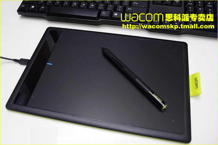 wacom手绘板 bamboo ctl-671学习板