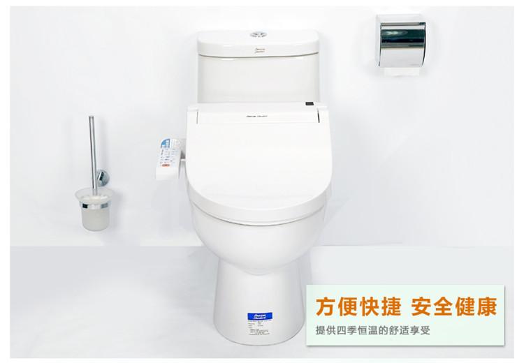 道新美标卫浴全功能智能马桶盖板cf-7132带除臭烘干洁