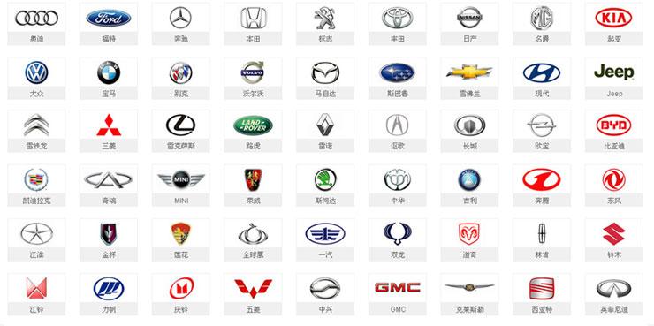 炫丽汽车标志壁纸