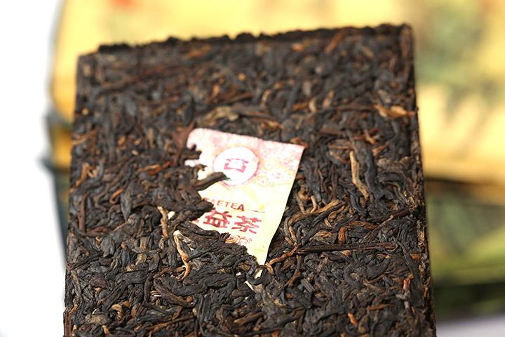 大益 勐海茶厂 普洱茶 2013年 7562 砖茶 熟茶 云南干仓 250g