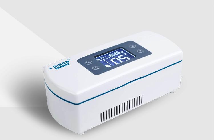 迪生充电式胰岛素冷藏盒 2-8度迷你药品储存冷藏箱 医用便携小冰箱