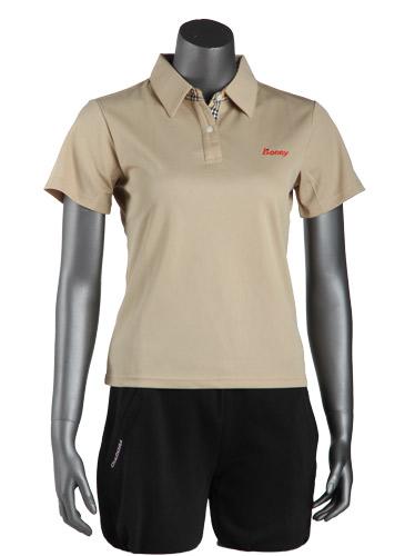 波力 1CT08040 女式运动POLO衫(L码)