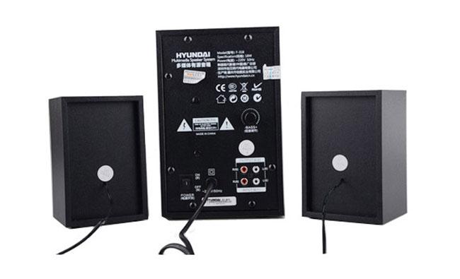 现代(hyundai)f-318有源音箱(黑色)