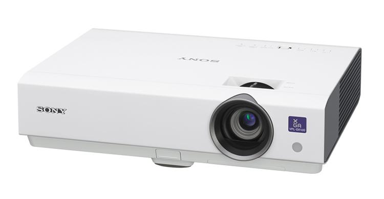 索尼(sony)vpl-dx100便携投影机2300流明 1024*768