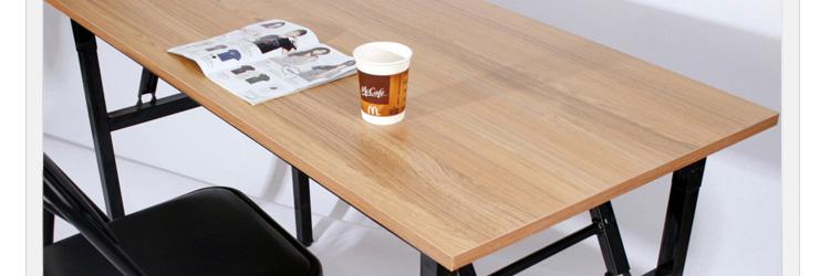 尼德亚当系列折叠桌,设计时尚简约,结构非常稳定牢固,没有晃动及承重