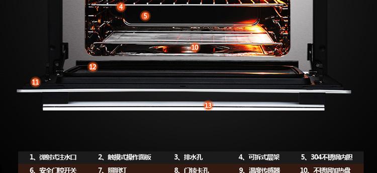 220v三根蒸箱加热管接线图