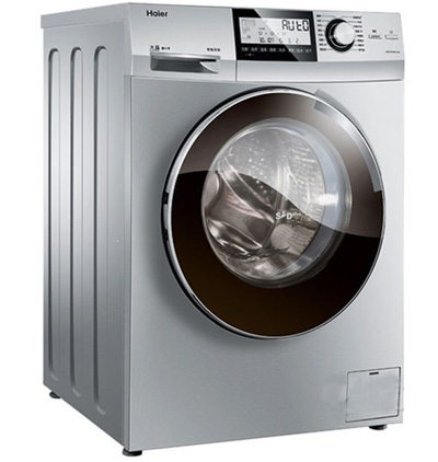 海尔(haier) xqg70-hbd1426 7公斤 变频带烘干滚筒洗衣机(银灰) 双