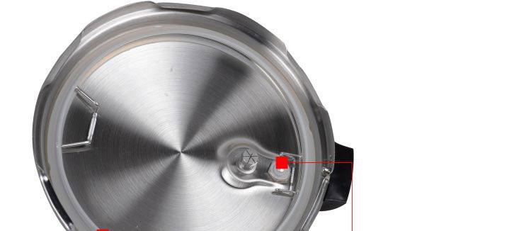 格兰仕(galanz)旋钮式电压力锅ya601j黑晶不粘锅内胆