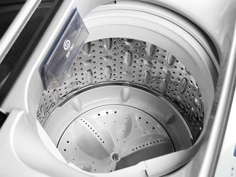 三洋(sanyo) db6057bes 6公斤 3d变频速溶洗波轮洗衣机(银色) 喷淋