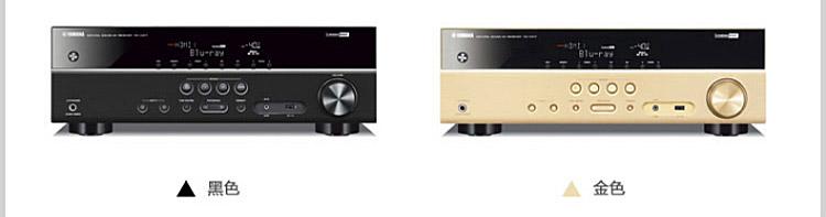 1声道家庭影院功放机音箱套装(6件套)(黑色功放)