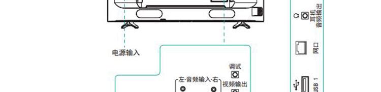 海信(hisense)led50ec290n 50英寸全高清 智能电视 海量应用 内置wifi