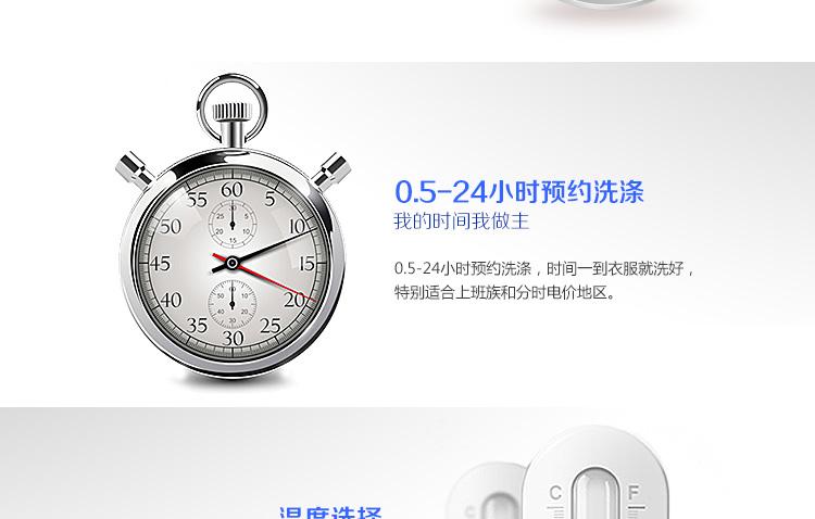 海尔(haier) xqg70-b10266 gm 7公斤 变频滚筒洗衣机(银灰) 海尔芯