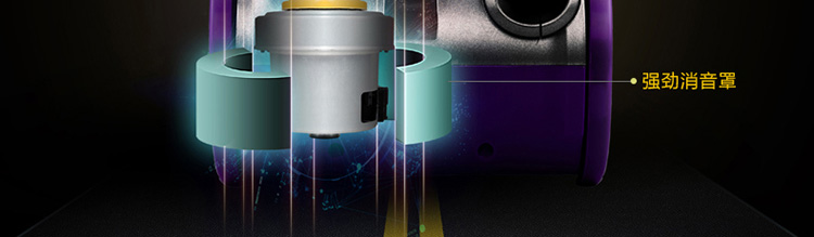 海尔(haier)家用吸尘器zw1401b(紫色)